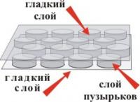 Пленки ВПП трехслойные