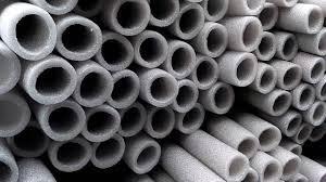 Трубная изоляция из вспененного полиэтилена ППЕ толщина стенки 6мм R15
